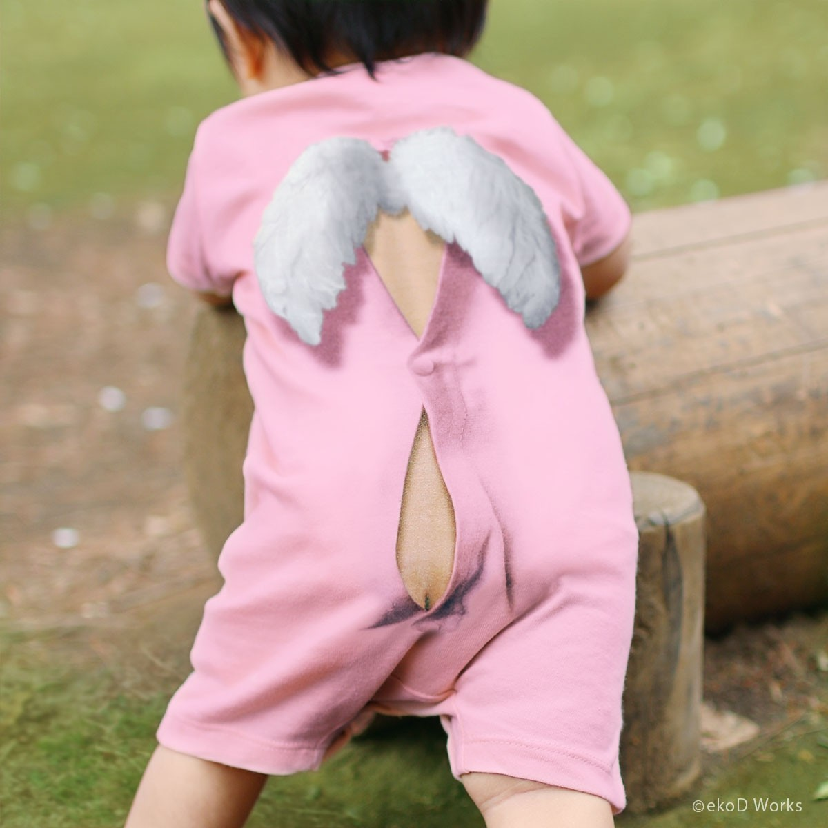 Áo baby 3D (Pink)